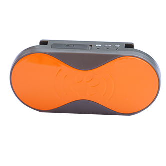 Sinocastel Mini Pet GPS Tracker - Orange