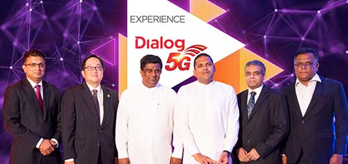 South Asia's First LIVE 5G Showcase at Dialog Iconic