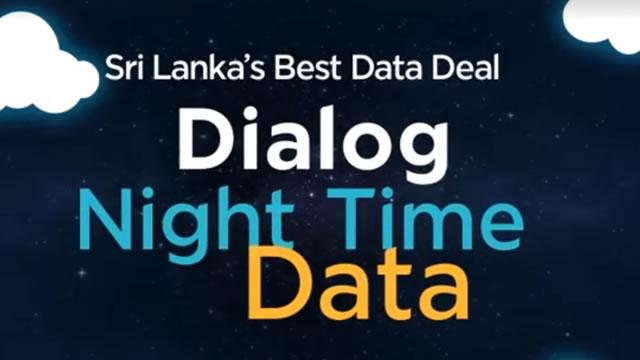 Dialog Night Time Data