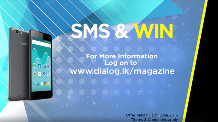 Future Today magazine Dialog Infinity Smartphone Offer