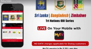 Watch the Sri Lanka, Bangladesh, Zimbabwe Tri-Nations ODI series LIVE on your mobile with MyTV from any mobile network.