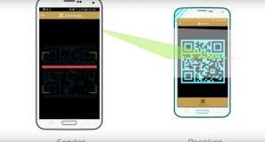 How to scan the QR code and transfer money via eZ Cash?