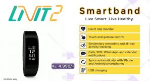 Introducing LiViT 2 Smartband with a built in Heart Rate Monitor. Available exclusively at selected Dialog Customer Care Centres island wide.