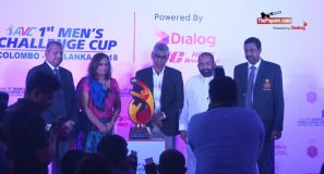 Launch of the 1st Asian Volleyball Championship to be hosted in Sri Lanka powered by Dialog 4G Home Broadband!